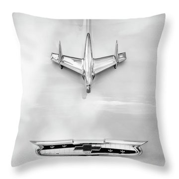 1955 Chevrolet Bel Air A017 Throw Pillow