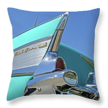 1957 Chevy Throw Pillow