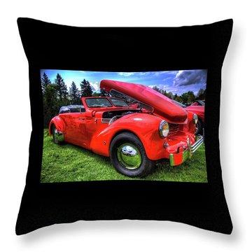 1969 Cord Automobile Throw Pillow