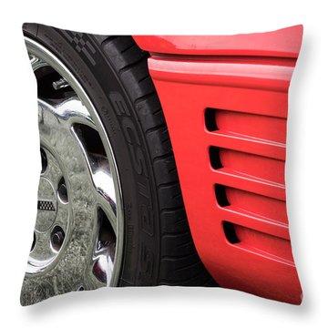1994 Corvette Throw Pillow