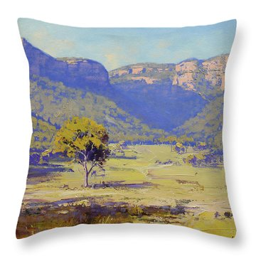 Capertee Valley Australia Throw Pillow