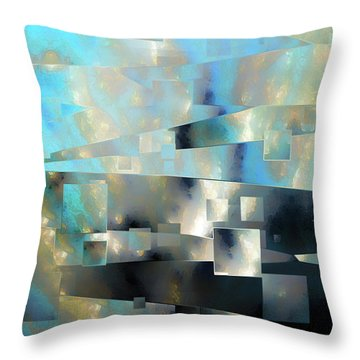 2 Corinthians 3 18. From Glory To Glory Throw Pillow