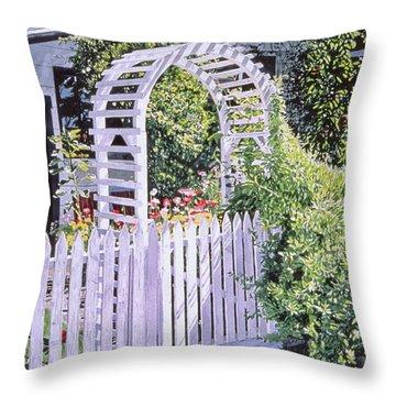 Early Summer Evening Throw Pillow