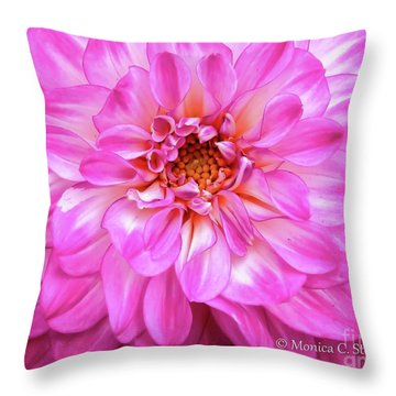 Flowers Hanging No. Hgf10 Throw Pillow