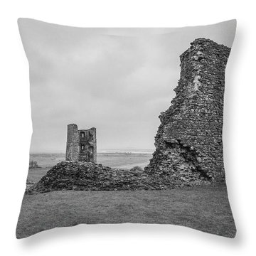 Hadleigh Castle Throw Pillow