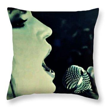 Joan Jett Throw Pillow