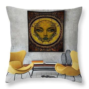 Lady Sanaa Throw Pillow