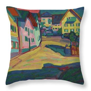 Murnau, Burggrabenstrasse 1 Throw Pillow