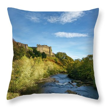 Richmond Castle Throw Pillow