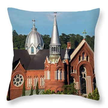 Sacred Heart Cultural Center - Augusta Ga Throw Pillow
