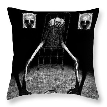 Stanley The Sleepless - Artwork Throw Pillow