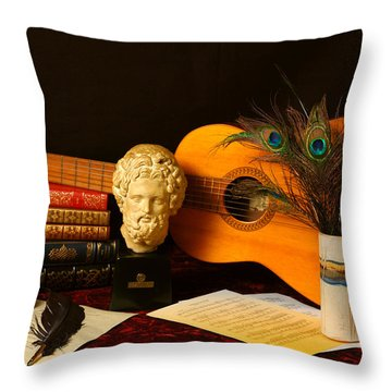 The Arts Throw Pillow