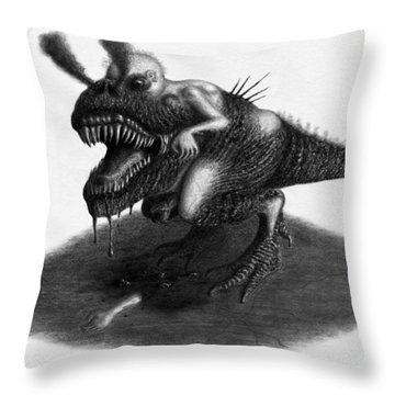 William The Flesheater - Artwork Throw Pillow