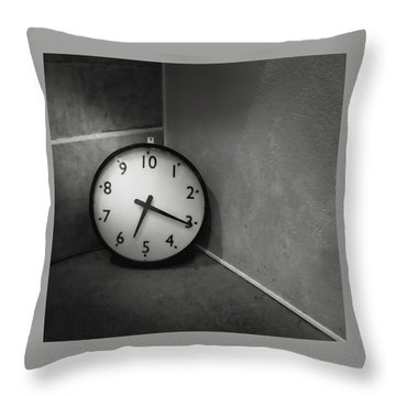 Throw Pillow featuring the photograph 20 Hours Day by Juan Contreras