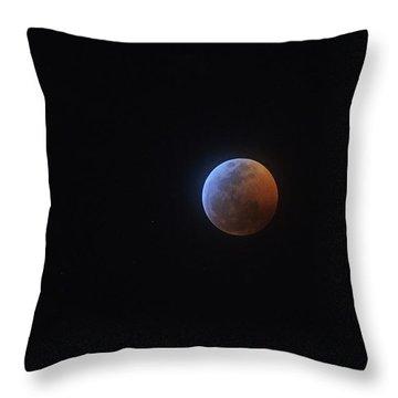 2019 Lunar Eclipse Throw Pillow
