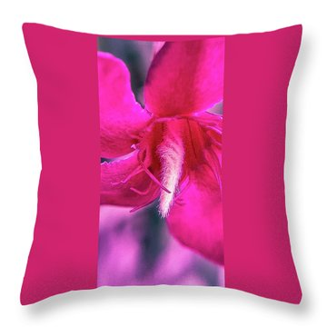 Inverted Oil Lamp Throw Pillow