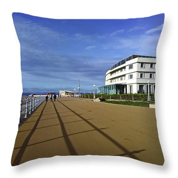 22/09/18  Morecambe. The Midland Hotel. Throw Pillow