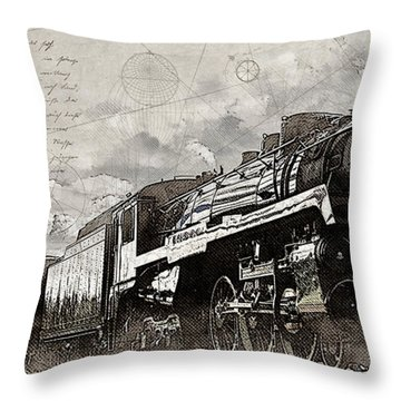 2816 At Banff Siding Throw Pillow