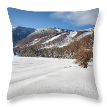 Cannon Mountain - White Mountains New Hampshire  Throw Pillow