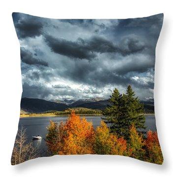 Lake Granby Throw Pillows