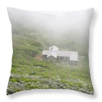 Madison Spring Hut - White Mountains New Hampshire  Throw Pillow