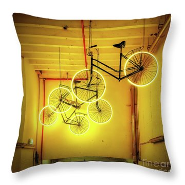 3 Nights In Brugge No 20 Throw Pillow