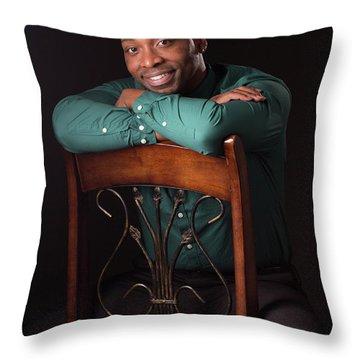 Portraits Throw Pillow
