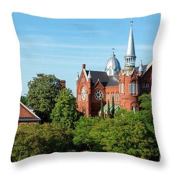 Sacred Heart Cultural Center - Augusta Ga Throw Pillow