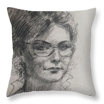 Sketch  Throw Pillow