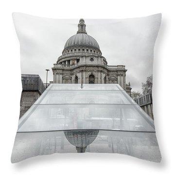St Pauls Throw Pillow