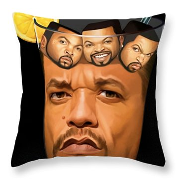 31 Offensive Dad Throw Pillow