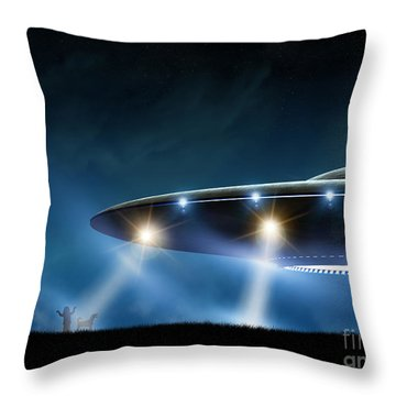 Spacecraft Throw Pillows