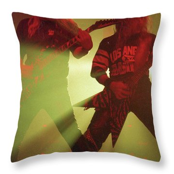 Slayer Throw Pillow
