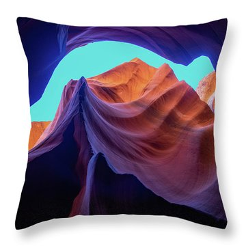 The Body's Earth  Throw Pillow