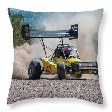 #43 Spencer Steele Throw Pillow