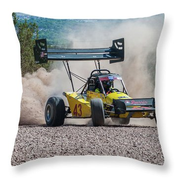 #43 Spencer Steele Throw Pillow