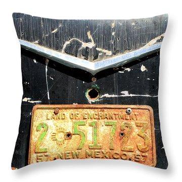 New Mexico '57 Throw Pillow