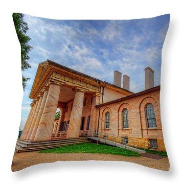 Arlington House Throw Pillow