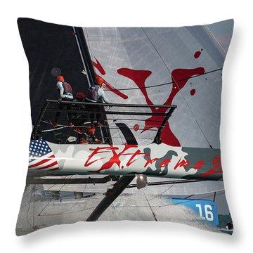 Extreme 2 Throw Pillow