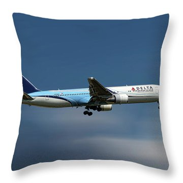Delta Air Lines Throw Pillows