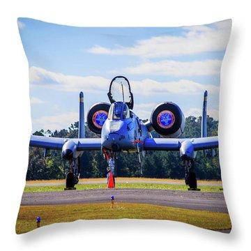 A-10c Thunderbolt II Throw Pillow