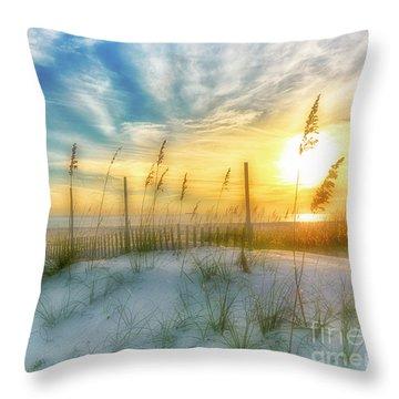 A Beach Dream Throw Pillow