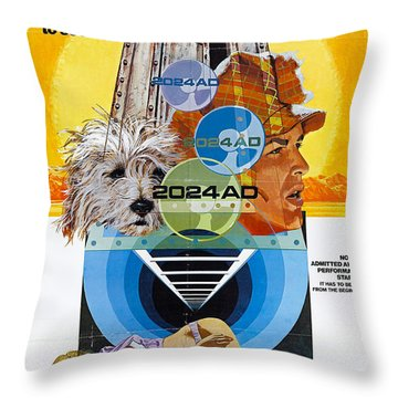 A Boy And His Dog Throw Pillows Fine Art America