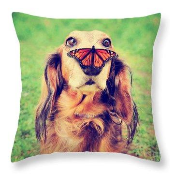 Pups Throw Pillows