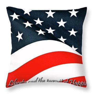 A Declaration Throw Pillow