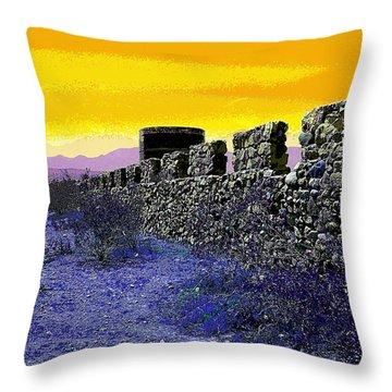 A Desert Host 2 Throw Pillow