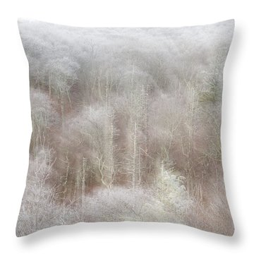 A Ghost Of Trees Throw Pillow