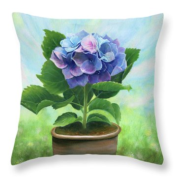 A Gift To My Angel Throw Pillow