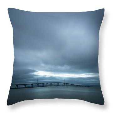 A Hole In The Sky Throw Pillow