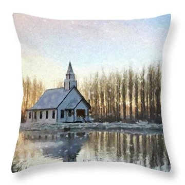 A Kind Heart - Hope Valley Art Throw Pillow